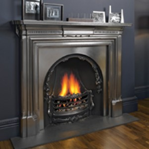 Cast iron fireplaces