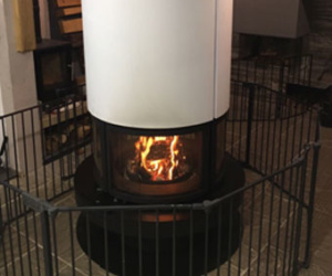 Rocal Circular Woodburning Stove
